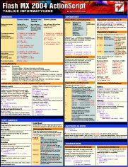 Tablice informatyczne. Flash MX 2004 ActionScript