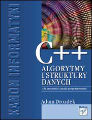 Ok�adka ksi��ki C++. Algorytmy i struktury danych