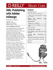 XML Publishing with Adobe InDesign