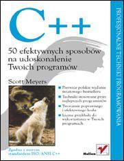 Ok�adka ksi��ki C++. 50 efektywnych sposob�w na udoskonalenie Twoich program�w