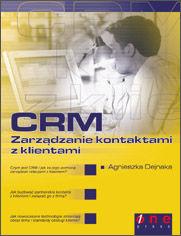 Ok�adka ksi��ki CRM. Zarz�dzanie kontaktami z klientami