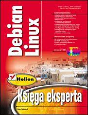 Ok�adka ksi��ki Debian Linux. Ksi�ga eksperta
