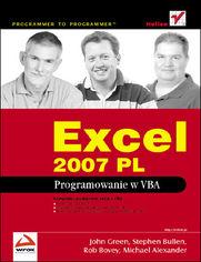 Excel 2007 PL. Programowanie w VBA