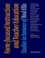 Form-Focused Instruction and Teacher Education - Oxford Applied Linguistics - Fotos, Sandra; Nassaji, Hossein