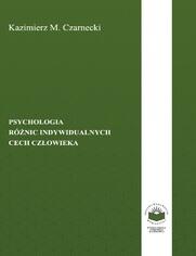 Psychologia różnic indywidualnych cech człowieka