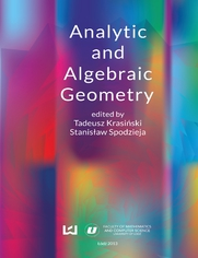Analytic and Algebraic Geometry