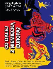 Krytyka Polityczna nr 34. Wydanie Specjalne: co dalej z niemiecką Europą - brak