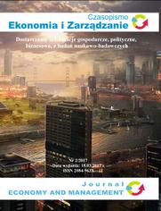 Czasopismo Ekonomia i Zarządzanie nr 2/2017