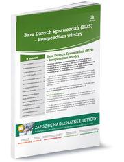 Baza Danych Sprawozdań (BDS) - kompendium wiedzy