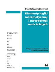 Elementy logiki matematycznej i metodologii nauk ścisłych (skrypt z wykładów)