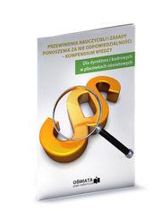 Przewinienia nauczycieli i zasady ponoszenia odpowiedzialności - kompendium wiedzy