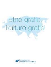 Etno-grafie, kulturo-grafie