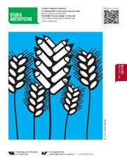 Studia Artystyczne Nr 3: Sztuka i kultura ludowa w badaniach i twórczości artystycznej