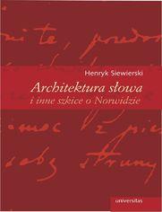 Architektura słowa i inne szkice o Norwidzie