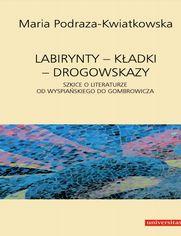 Labirynty - kładki - drogowskazy. Szkice o literaturze od Wyspiańskiego do Gombrowicza