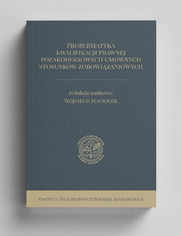 Problematyka kwalifikacji prawnej pozakodeksowych umownych stosunków zobowiązaniowych