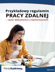 Przykładowy regulamin pracy zdalnej - wzór dokumentu z komentarzem