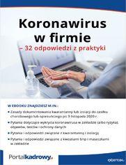 Koronawirus w firmie - 32 odpowiedzi z praktyki