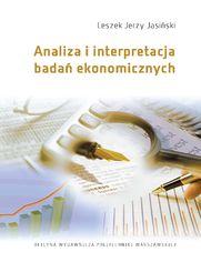 Analiza i interpretacja badań ekonomicznych