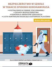 Bezpieczeństwo w szkole w trakcie epidemii koronawirusa