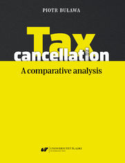 Tax cancellation: A comparative analysis