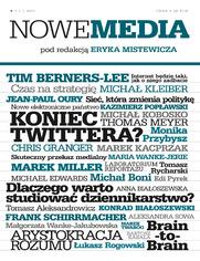 NOWE MEDIA pod redakcją Eryka Mistewicza Kwartalnik 9/2015