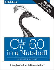 Ok�adka ksi��ki C# 6.0 in a Nutshell. The Definitive Reference. 6th Edition