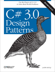 Ok�adka ksi��ki C# 3.0 Design Patterns