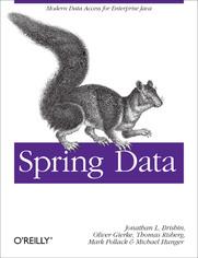 Ok�adka ksi��ki Spring Data