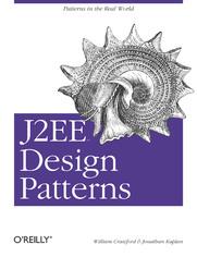 Ok�adka ksi��ki J2EE Design Patterns