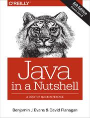 Ok�adka ksi��ki Java in a Nutshell. 6th Edition