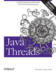 Ok�adka ksi��ki Java Threads. 3rd Edition