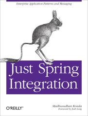 Ok�adka ksi��ki Just Spring Integration