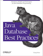 Ok�adka ksi��ki Java Database Best Practices