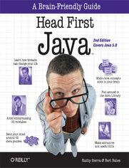 Ok�adka ksi��ki Head First Java. 2nd Edition
