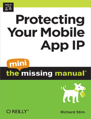 Ok�adka ksi��ki Protecting Your Mobile App IP: The Mini Missing Manual