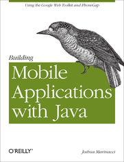 Ok�adka ksi��ki Building Mobile Applications with Java. Using the Google Web Toolkit and PhoneGap