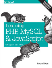 Ebook Learning PHP, MySQL & JavaScript. With jQuery, CSS & HTML5. 4th Edition