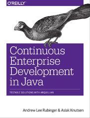 Ok�adka ksi��ki Continuous Enterprise Development in Java