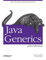 Ok�adka ksi��ki Java Generics and Collections