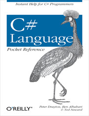 Ok�adka ksi��ki C# Language Pocket Reference