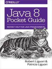Ok�adka ksi��ki Java 8 Pocket Guide