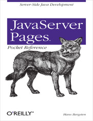 Ok�adka ksi��ki JavaServer Pages Pocket Reference