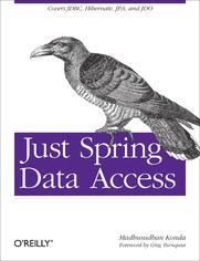 Ok�adka ksi��ki Just Spring Data Access