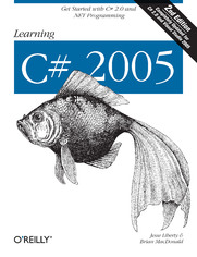 Ok�adka ksi��ki Learning C# 2005. Get Started with C# 2.0 and .NET Programming. 2nd Edition