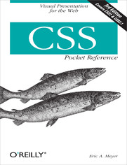 Ebook CSS Pocket Reference. Visual Presentation for the Web. 3rd Edition