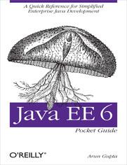 Ok�adka ksi��ki Java EE 6 Pocket Guide