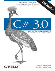 Ok�adka ksi��ki C# 3.0 Pocket Reference. Instant Help for C# 3.0 Programmers. 2nd Edition