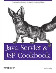 Ok�adka ksi��ki Java Servlet & JSP Cookbook