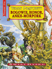 Bogowie,honor,Ankh-Morpork - Terry Pratchett